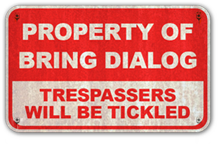 Property of Bring Dialog